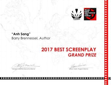 GRAND PRIZE BEST SCREENPLAY 2017